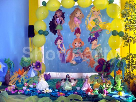 decoracao festa winx:Showparty – Decoração de festas de Aniversário e outras festas