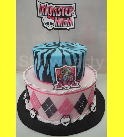 Home Decoracoes Trabalhos Em E V A Bolo Monster High Bolo Monster High
