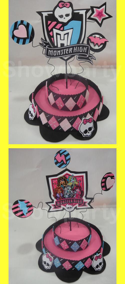 Em E V A Centro De Mesa Monster High Centro De Mesa Monster High